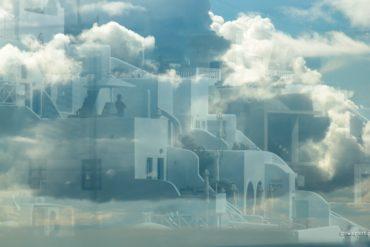 Odbicia Santorini, kreatywność