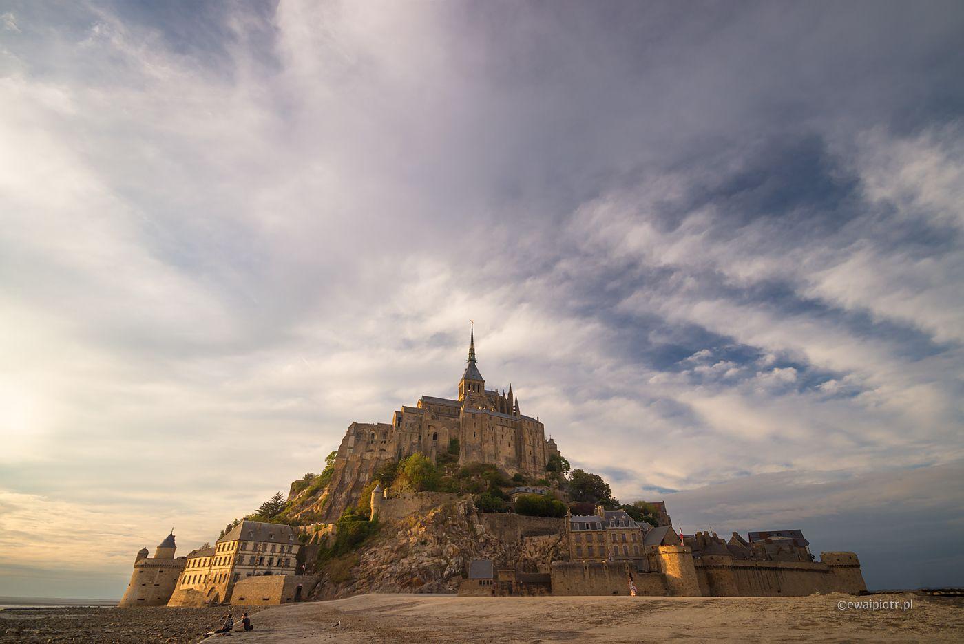 Mont Saint Michel, Bretania fotowyprawa