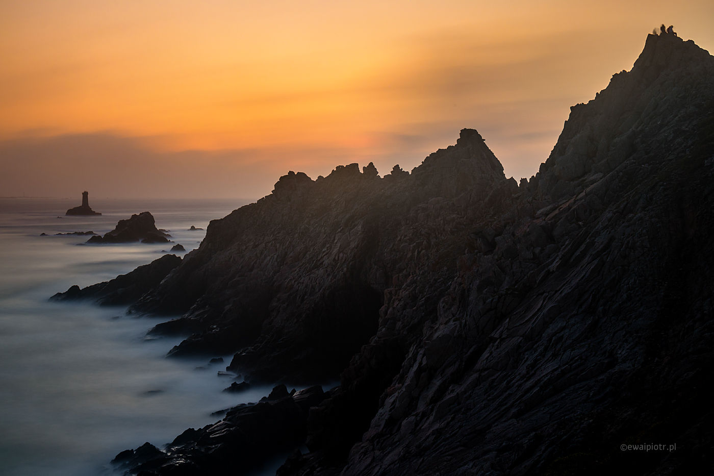 Pointe du Raz, Bretania fotowyprawa