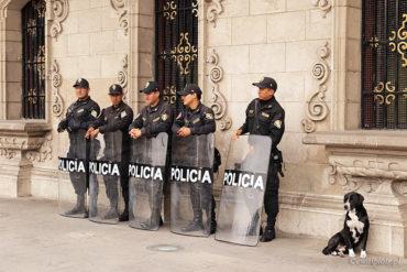 Czterech policjantów i pies, Peru, legalna fotowyprawa, przepisy