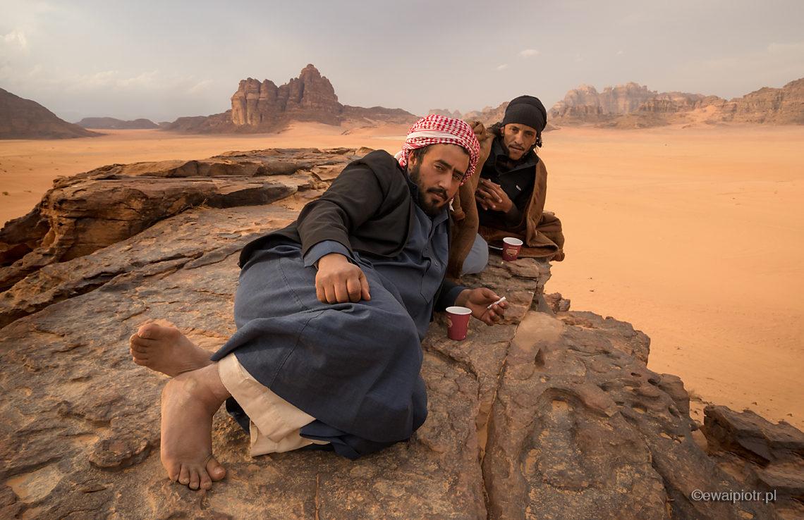 Herbatka na pustyni Wadi Rum, Jordania fotowyprawa