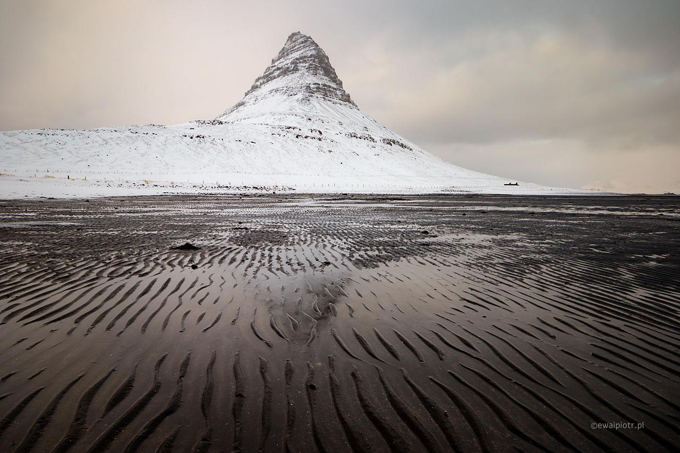 Pod górą Kirkjufell, Islandia, warsztaty fotograficzne
