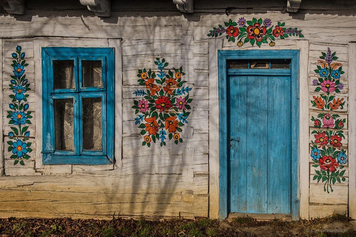 Zalipie - malowana wieś, kolorowe domy, warsztaty fotograficzne, Świętokrzyskie