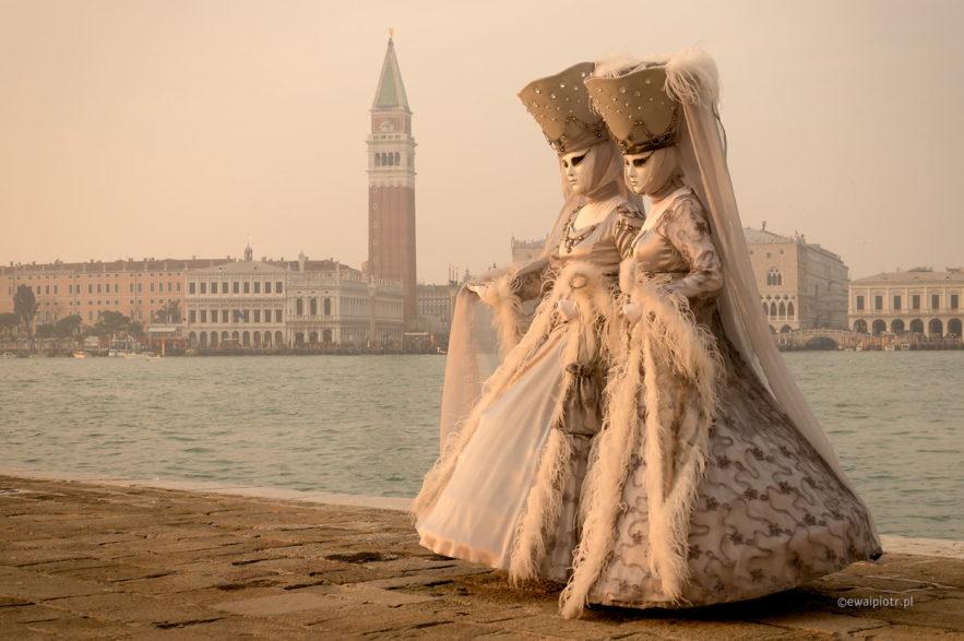 Damy z nabrzeża San Giorgio Maggiore, Wenecja, fotowyprawa