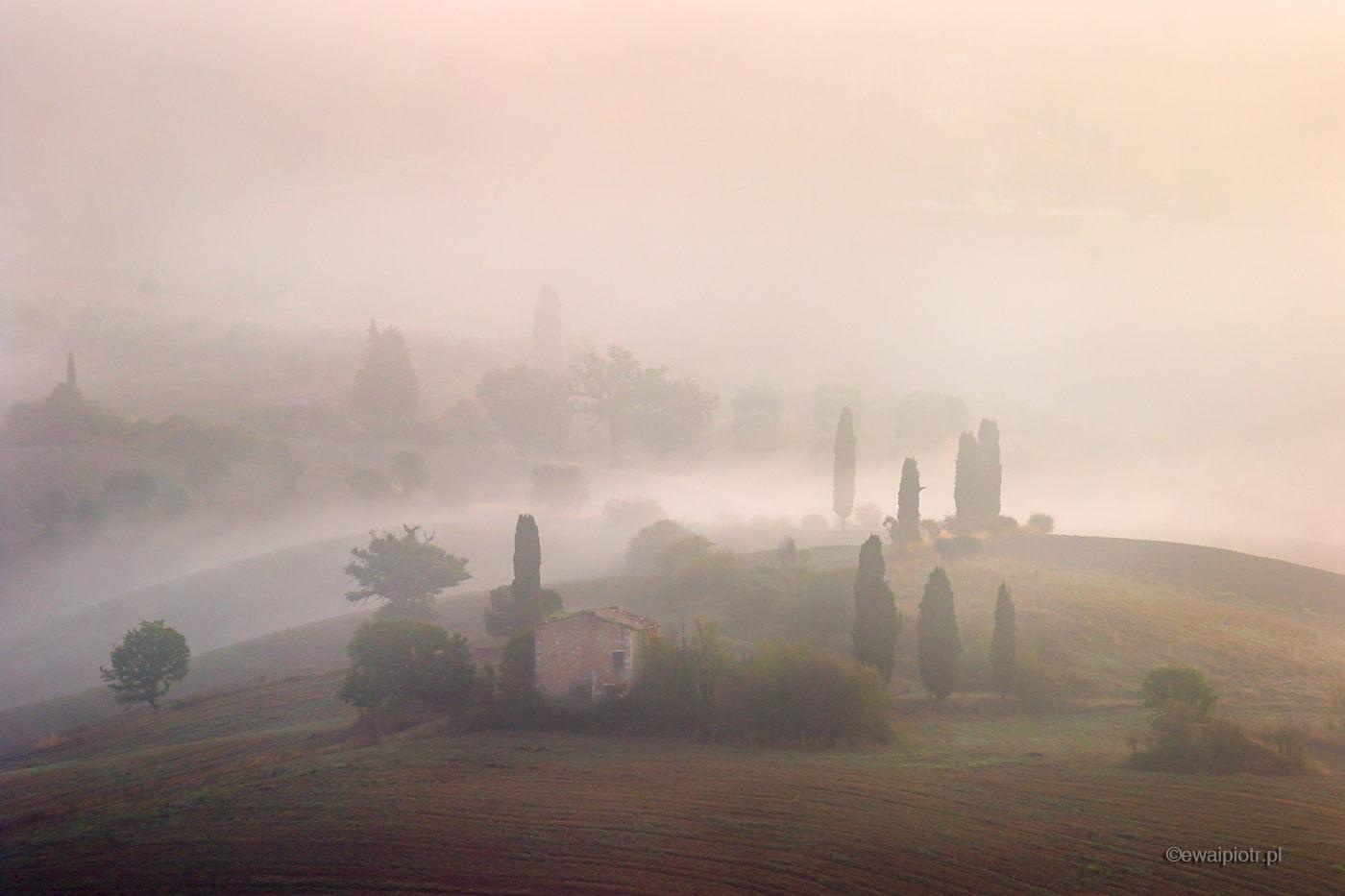 Mgły Toskanii, fotowyprawa