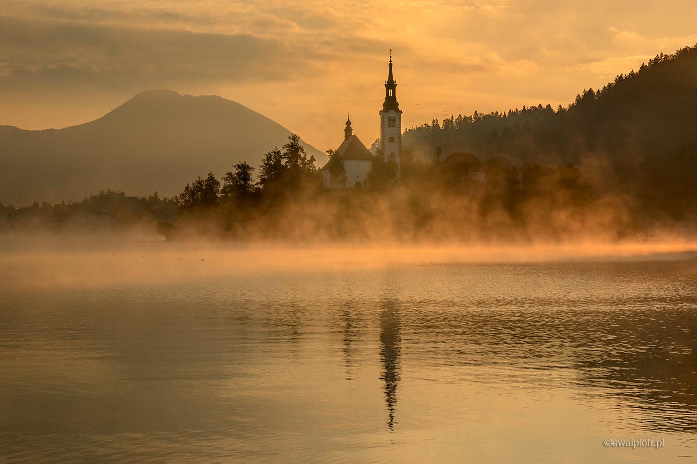 Jezioro Bled, Słowenia, covid-19 a fotowyprawa