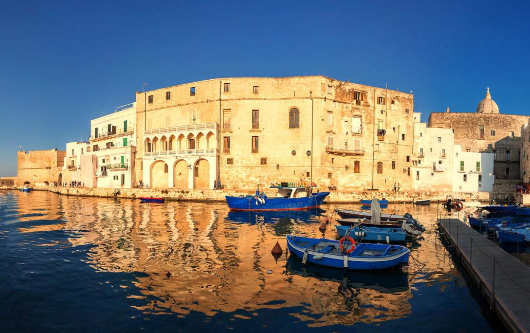 Stary port w Monopoli, warsztaty fotograficzne Apulia, Włochy