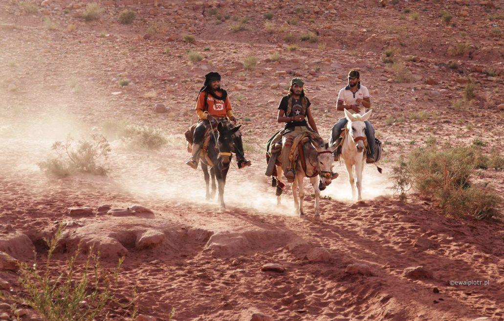 Trzech jeźdźców, Petra, Jordania, warsztaty fotograficzne