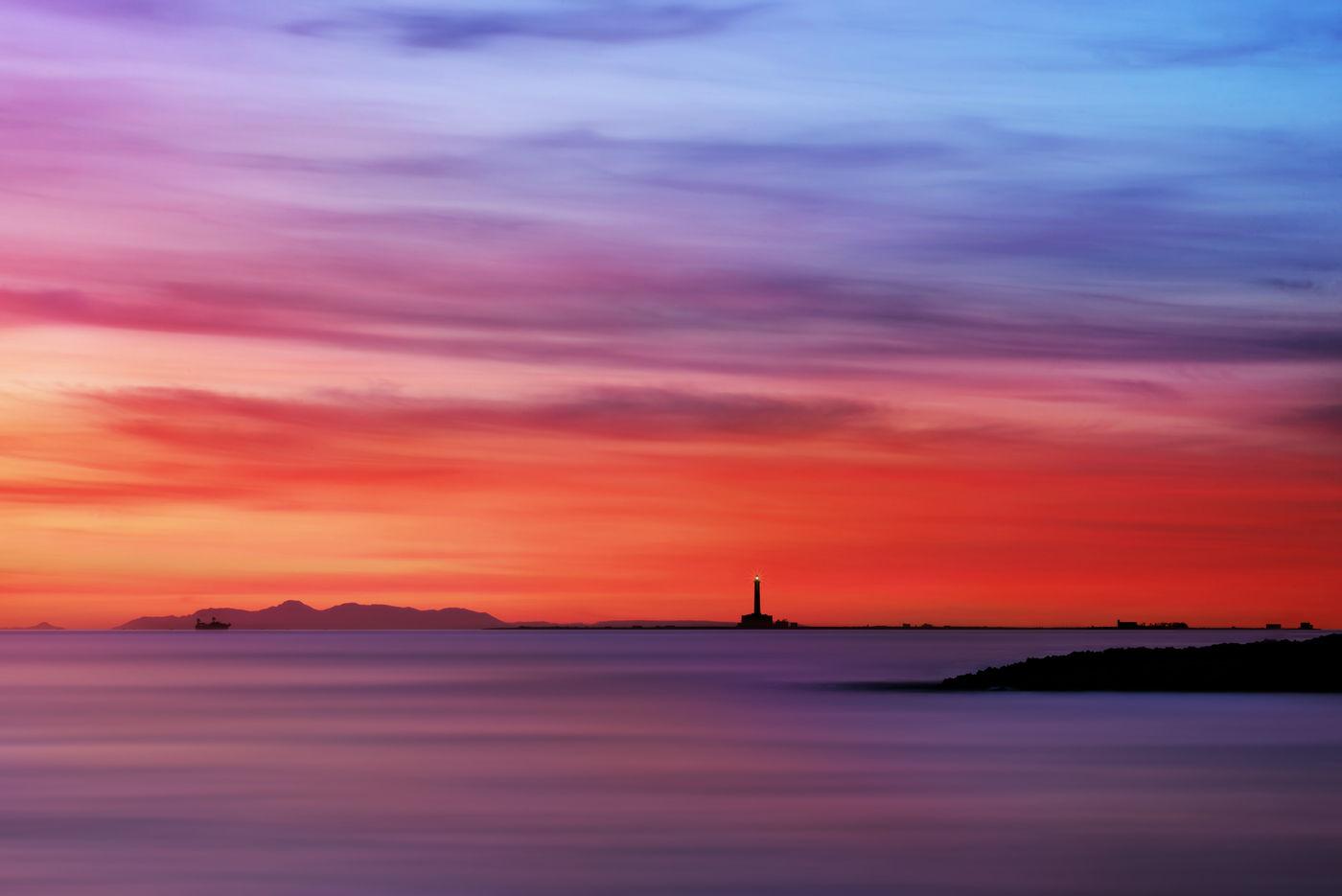 Zachód słońca przy Gallipoli, Włochy, fotowyprawa Apulia