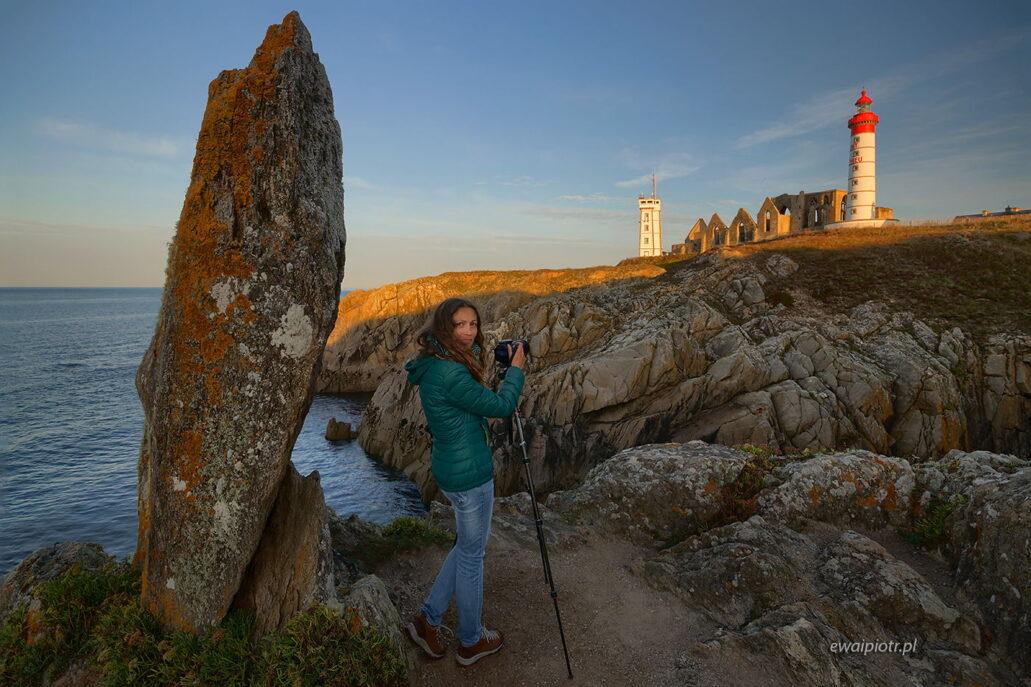 Pointe Saint Mathieu, Bretania, Ula Kupińska, fotowyprawa