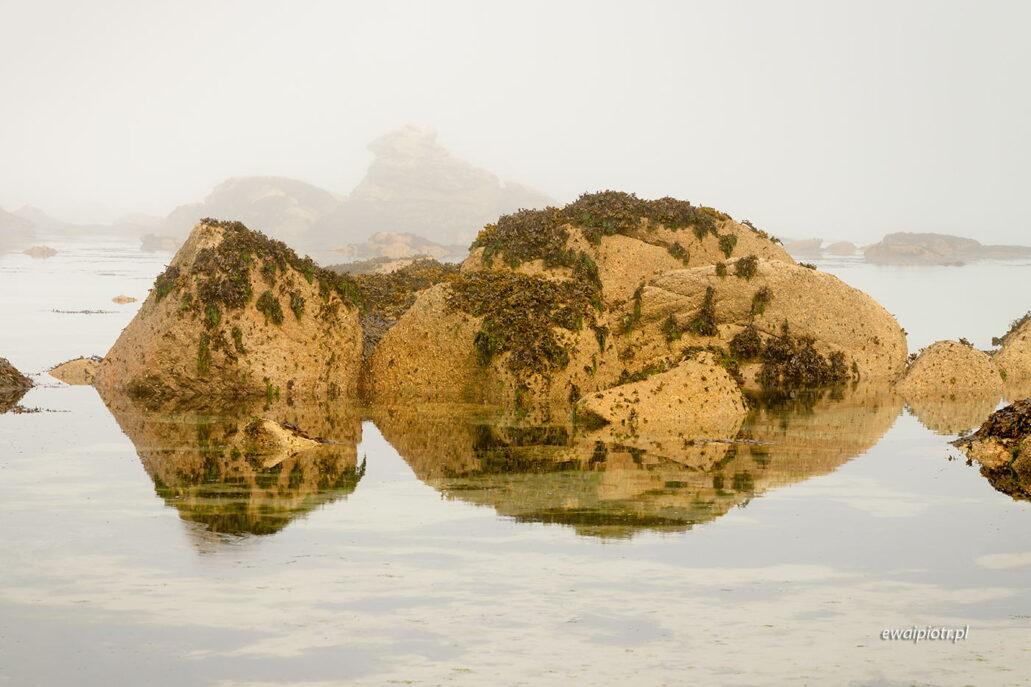 Kamienie i odbicia, Bretania, fotowyprawa