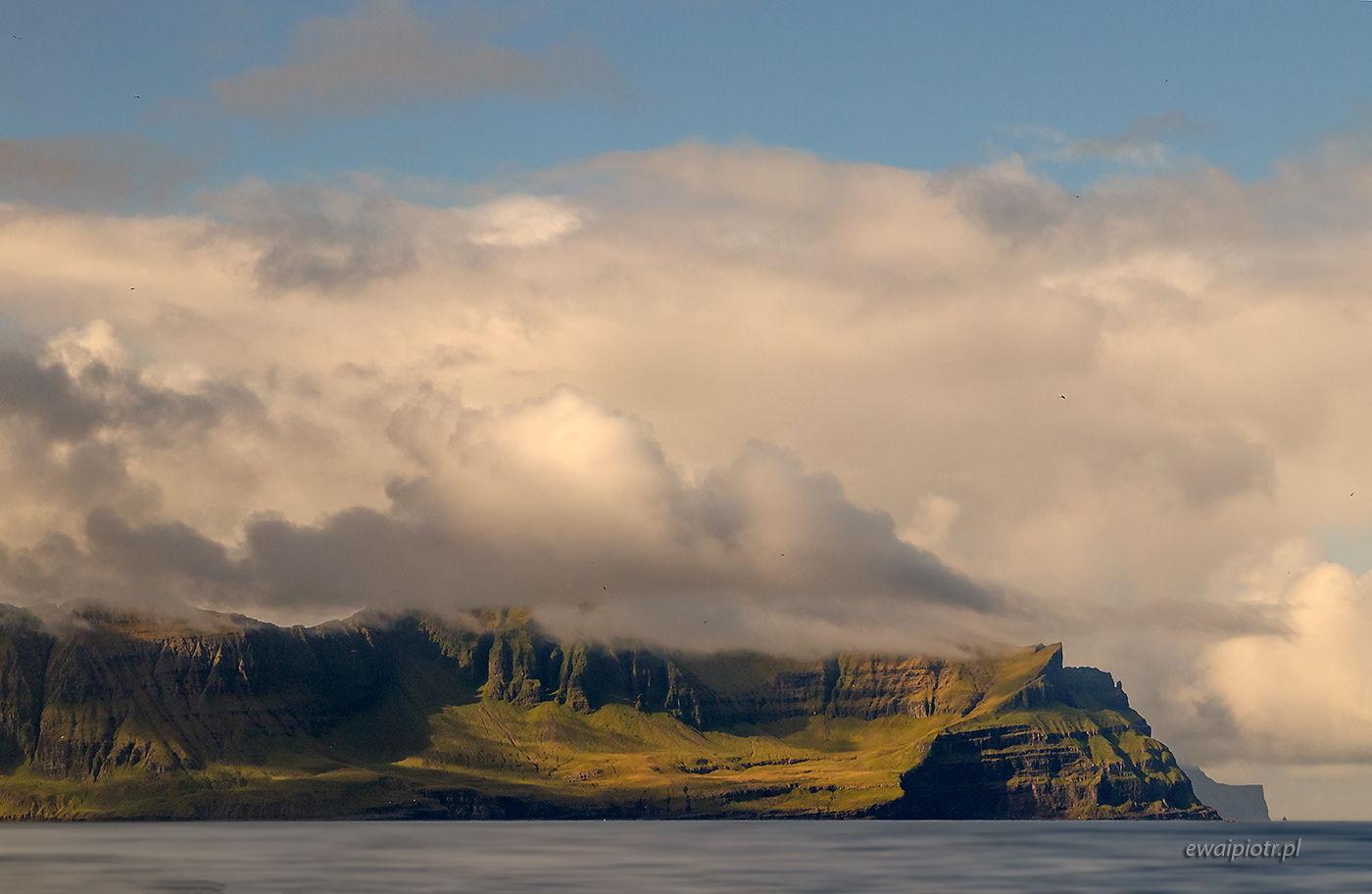 Klify w chmurach, Wyspy Owcze, warsztaty fotograficzne