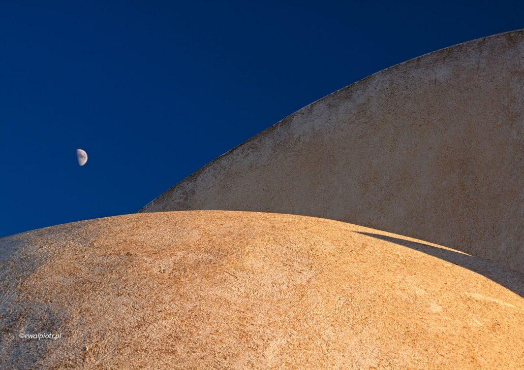 Kopuły i Księżyc, Santorini, fotowyprawa