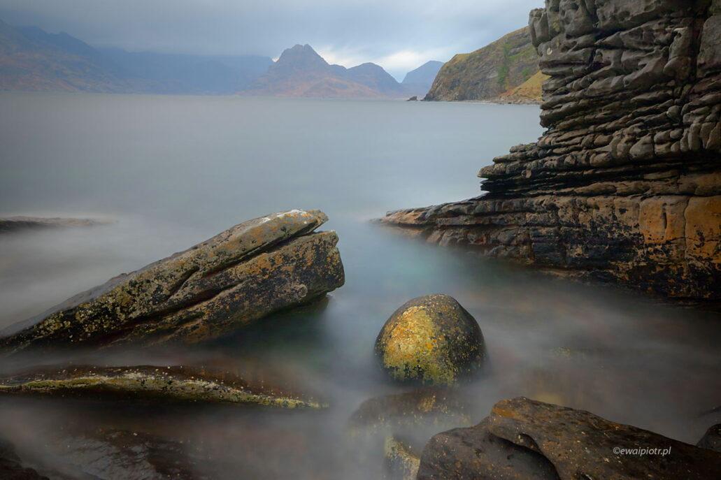wybrzeże Elgol, wyspa Skye, Szkocja, fotowyprawa