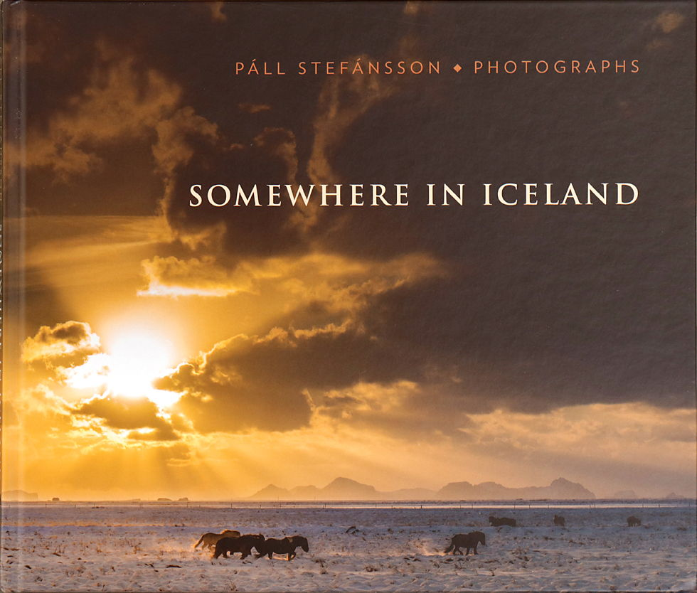 Páll Stefánsson, Somewhere in Iceland, okładka, album fotograficzny o Islandii
