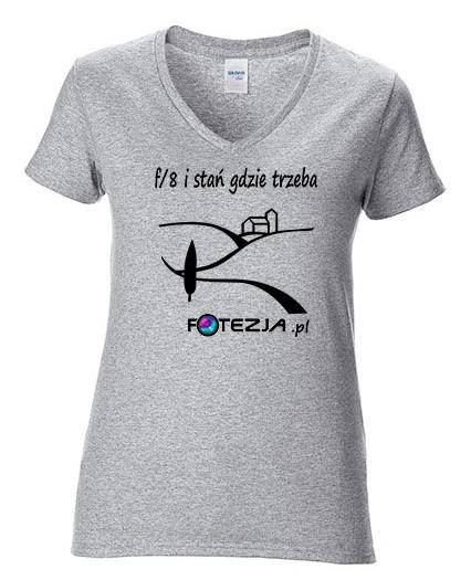koszulka damska dla fotografa