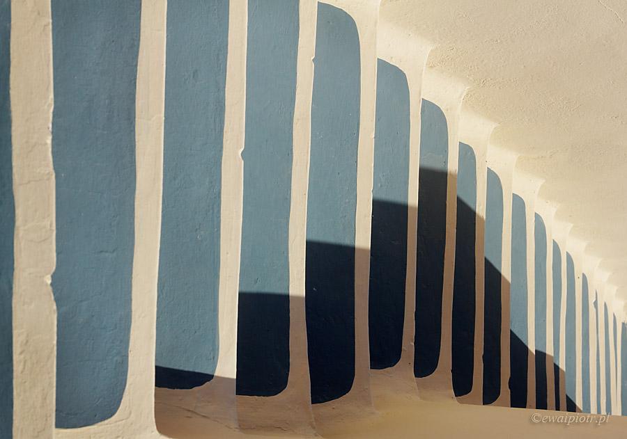 Jak powstaje fotografia - schody Santorini