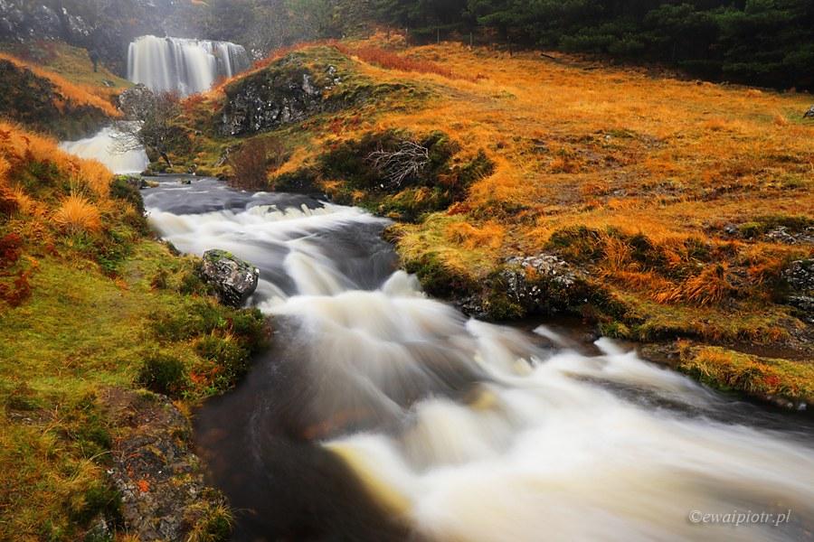 Fotografowanie w deszczu Fairy Pools, Szkocja
