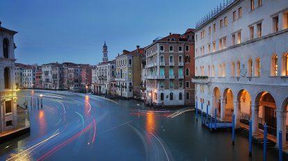Jaki aparat fotograficzny kupić, Wenecja o zmierzchu