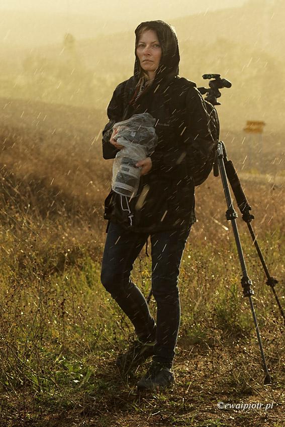 Fotografowanie w deszczu - portret
