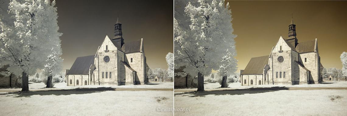 Filtr polaryzacyjny w fotografii podczerwonej