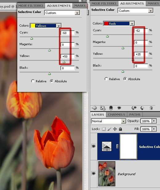 Jak zmieniać kolory na zdjęciach