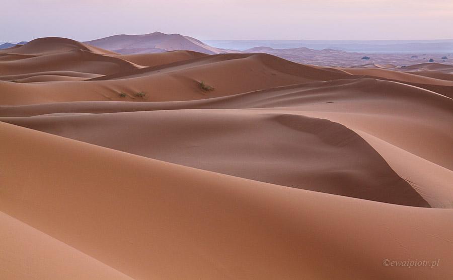 Erg Chebbi o świcie, Fotografowanie na pustyni