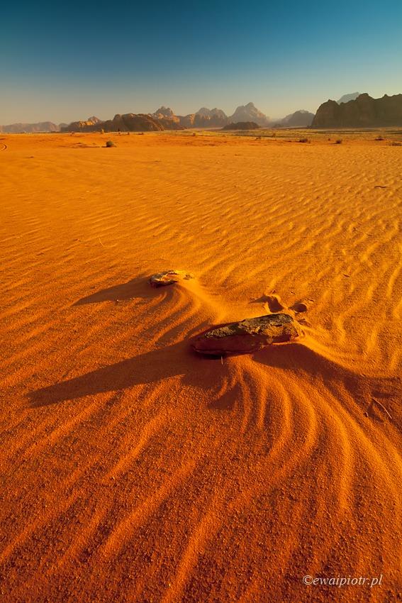 Jak robić zdjęcia na pustyni, Wadi Rum, Jordania