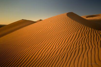 Fotografowanie na pustyni - wydmy Omanu