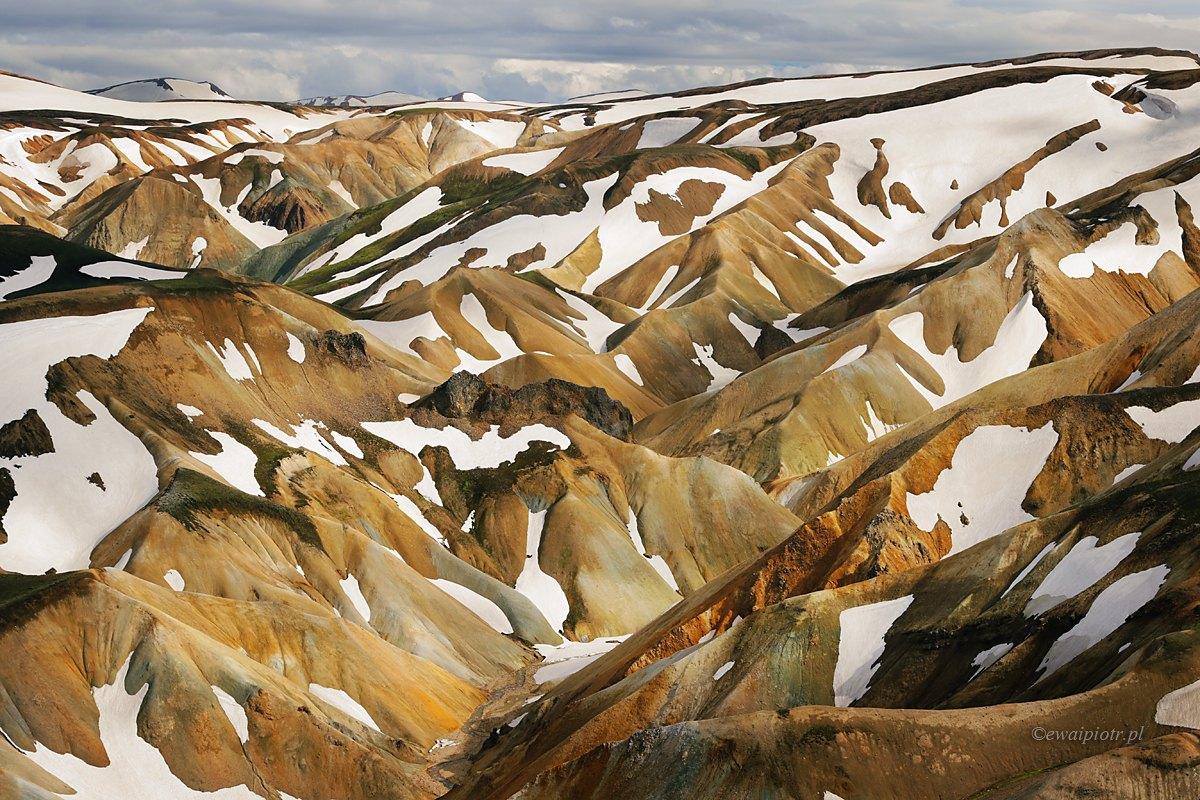 Kolorowe wzgórza Islandii - jaki obiektyw do krajobrazu