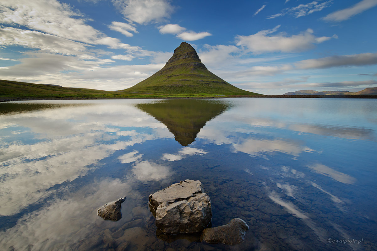 Kirkjufell, Islandia, Gdzie smartfon nie da rady
