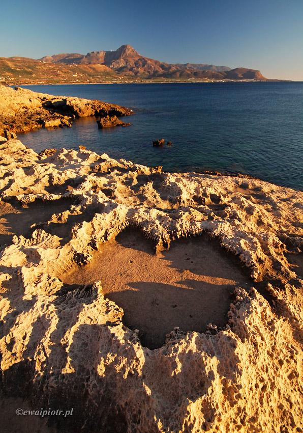 Falsarna, serce z kamienia, Kreta przewodnik fotograficzny