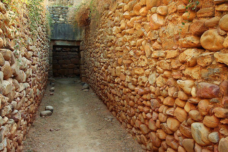 Minojski grobowiec, Malia, Kreta, poradnik fotograficzny