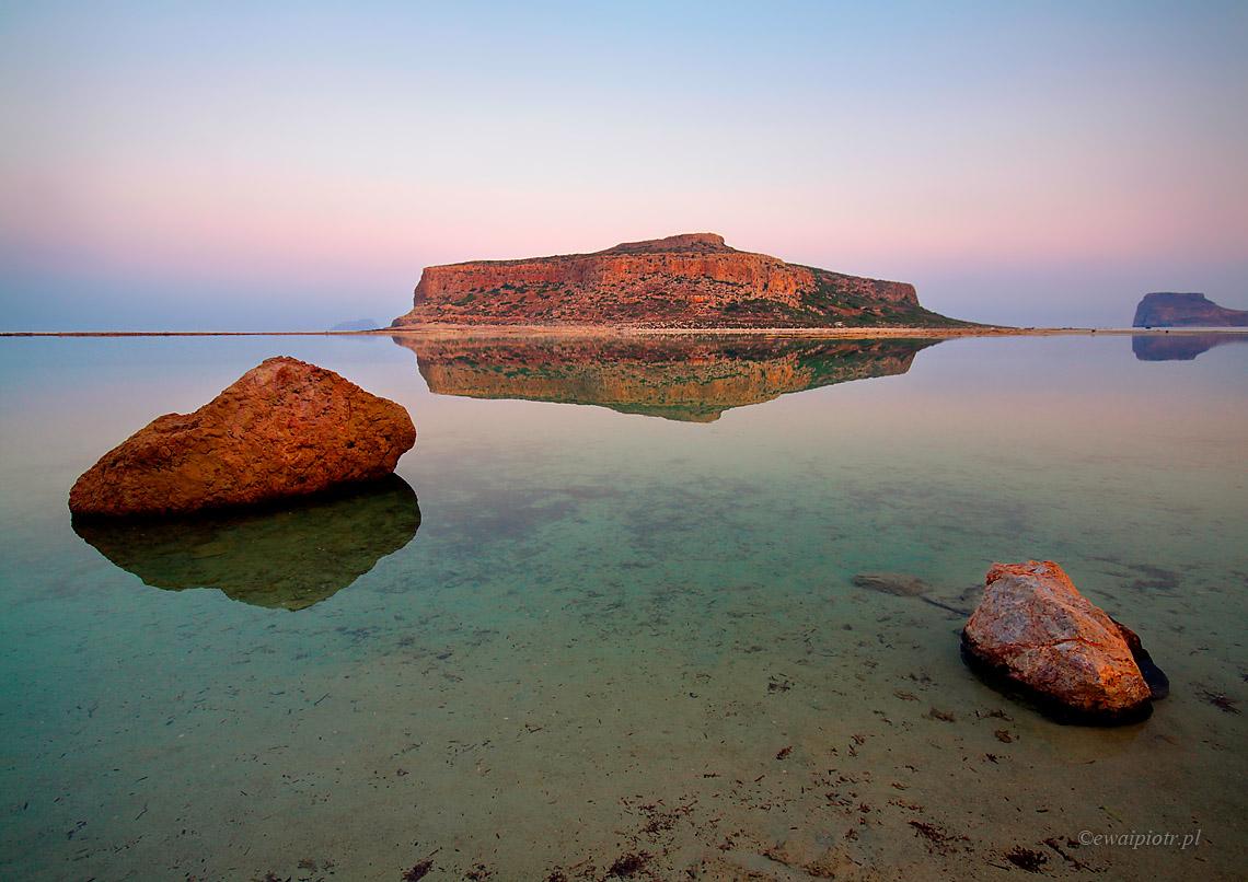 Wschód słońca na plaży Balos, Kreta dla fotografa