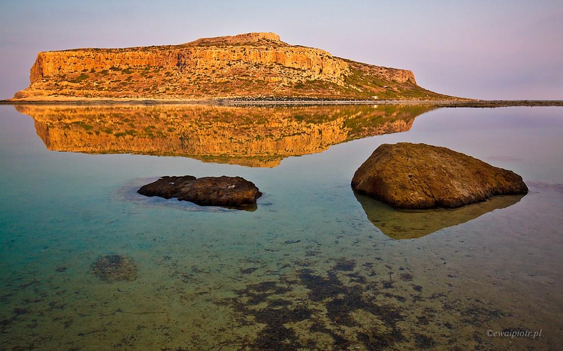 Gramvousa, z plaży Balos, przewodnik po Krecie