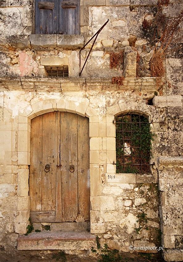 Zruinowany dom, Argiropoulis, Kreta dla fotografa
