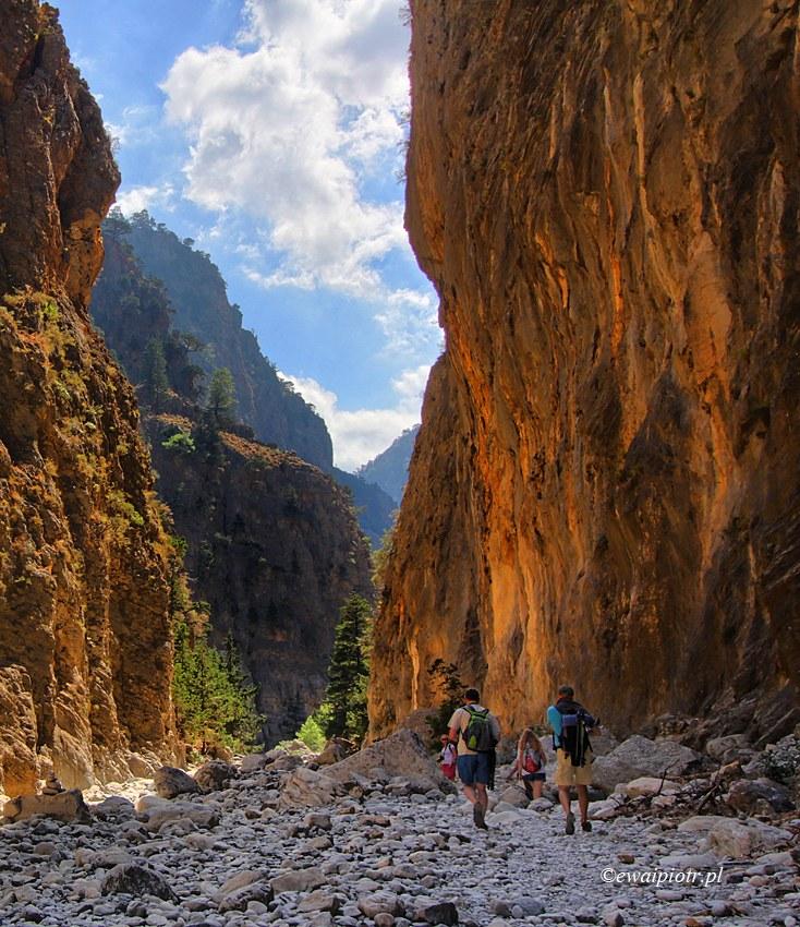 Spacerem przez wąwóz Samaria,co fotografować na Krecie