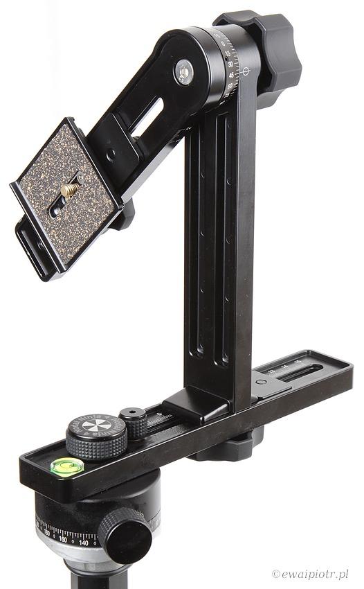 Nodaj Ninja 4, głowica do panoram, jak fotografować panoramę
