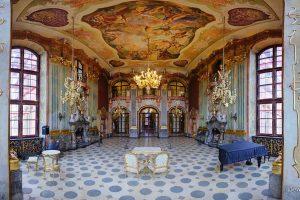 Zamek Książ, panorama mozaikowa, poradnik