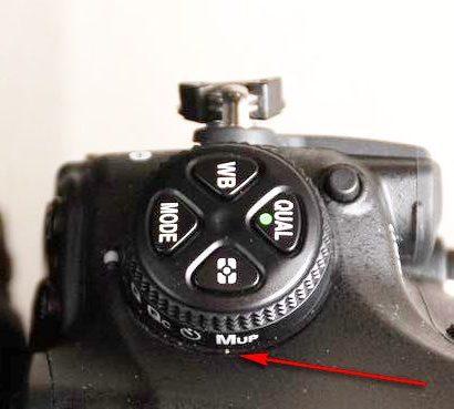 Mirror Lock Up w aparatach Nikona, wstępne podnoszenie lustra