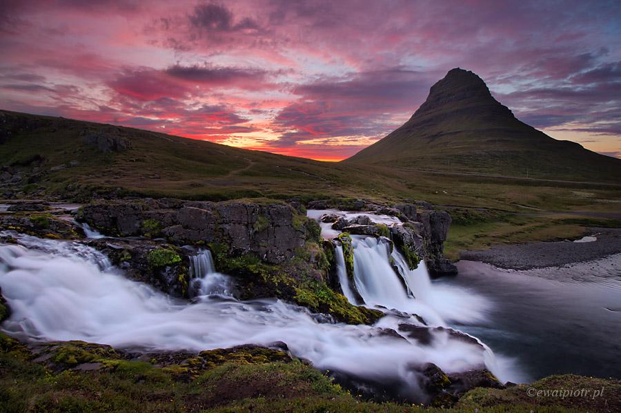 Kirkjufellsfoss - najładniejsze wodospady Islandii, poradnik dla fotografa