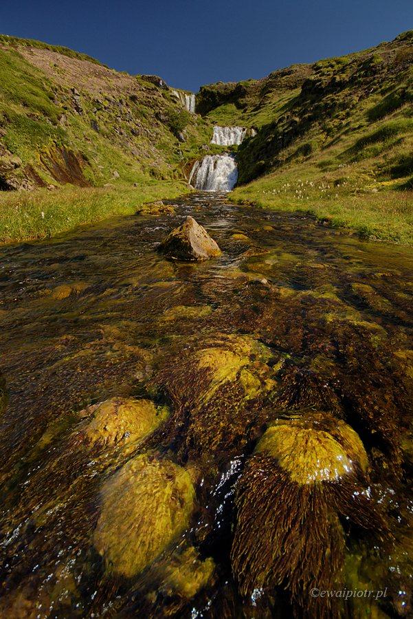 Wodospad Selvallafoss na półwyspie Snaefellsness, przewodnik po wodospadach Islandii