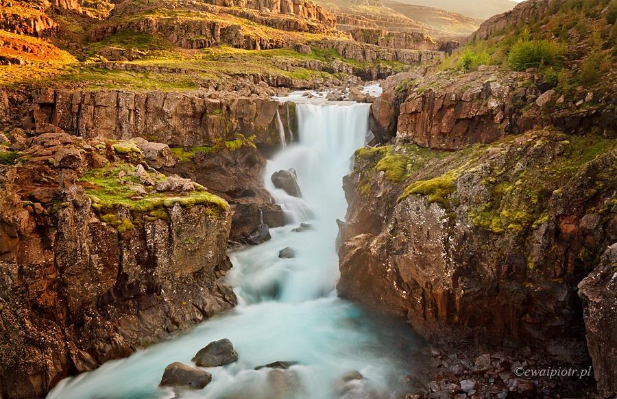 Sveinsstekksfoss - najmniej znany z najładniejszych wodospadów Islandii
