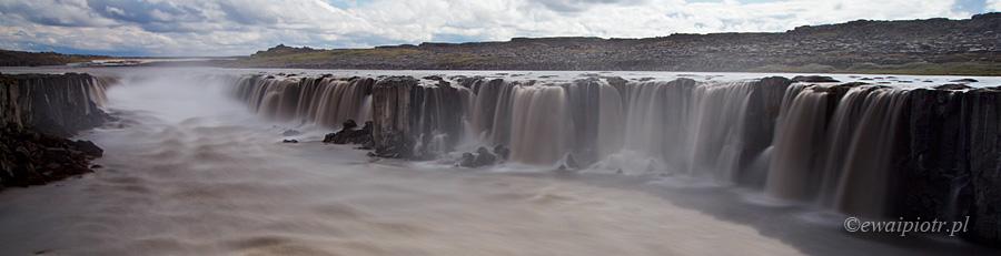 Selfoss - wodospad panoramiczny, najładniejsze wodospady Islandii, przewodnik po wodospadach