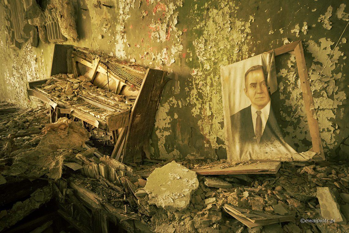 Pianino i sekretarz partii, Zona Czarnobyl i Prypeć