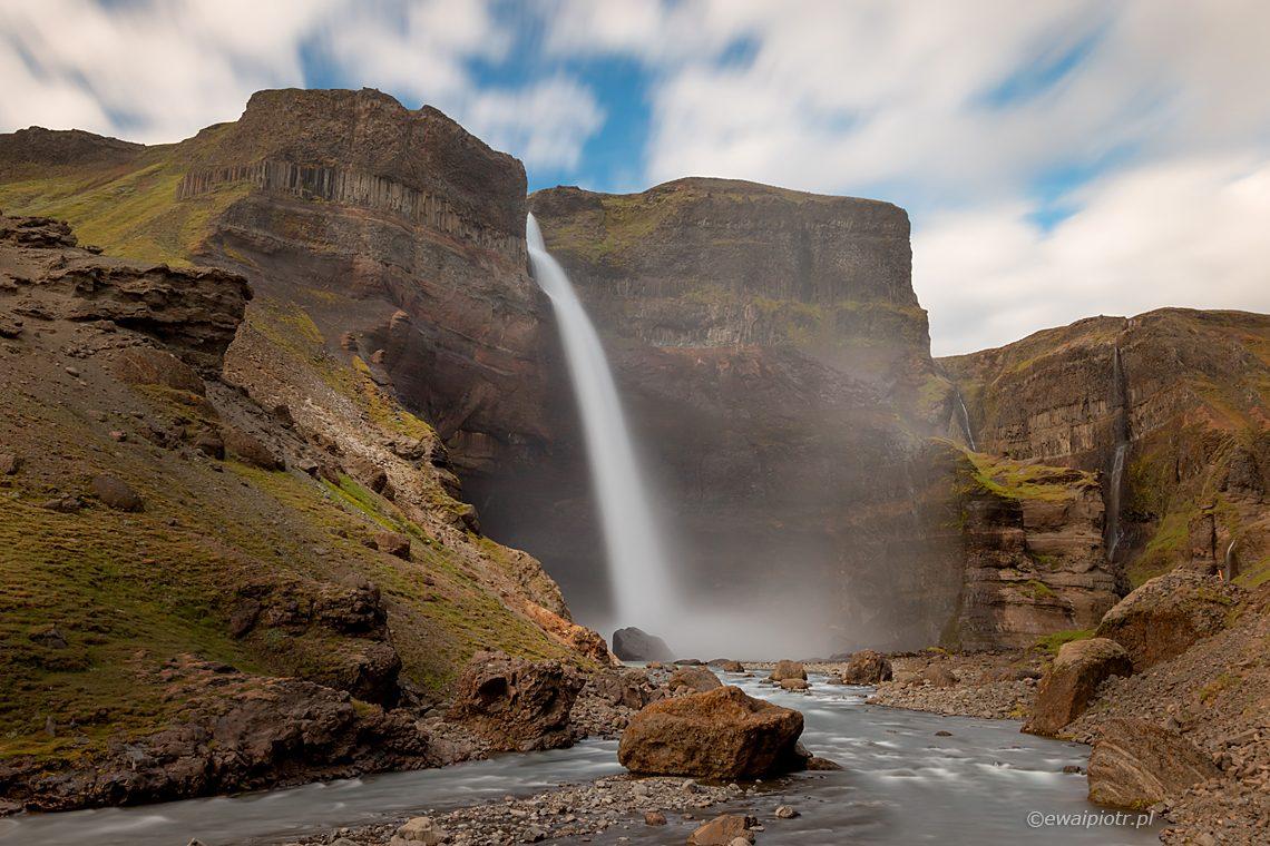 Haifoss - wodospady Islandii, przewodnik dla fotografa