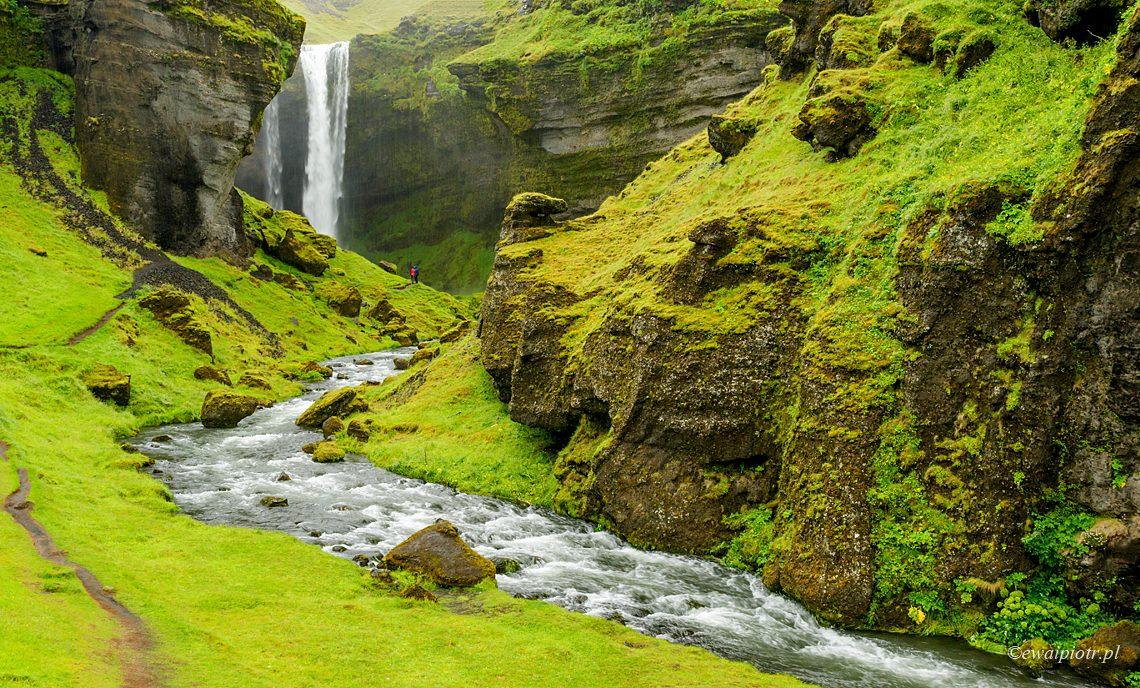 Kvernufoss - nieznany wodospad Islandii, poradnik fotografowania na Islandii