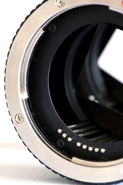 pierścień pośredni z przeniesieniem automatyki, poradnik do makrofotografii