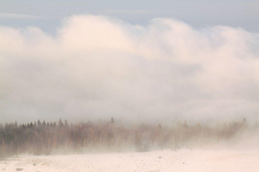 Fotografowanie mgły, pomiar ekspozycji, jak korzystać ze światłomierza