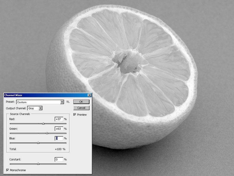 jak przerobić zdjęcie na czarno-białe